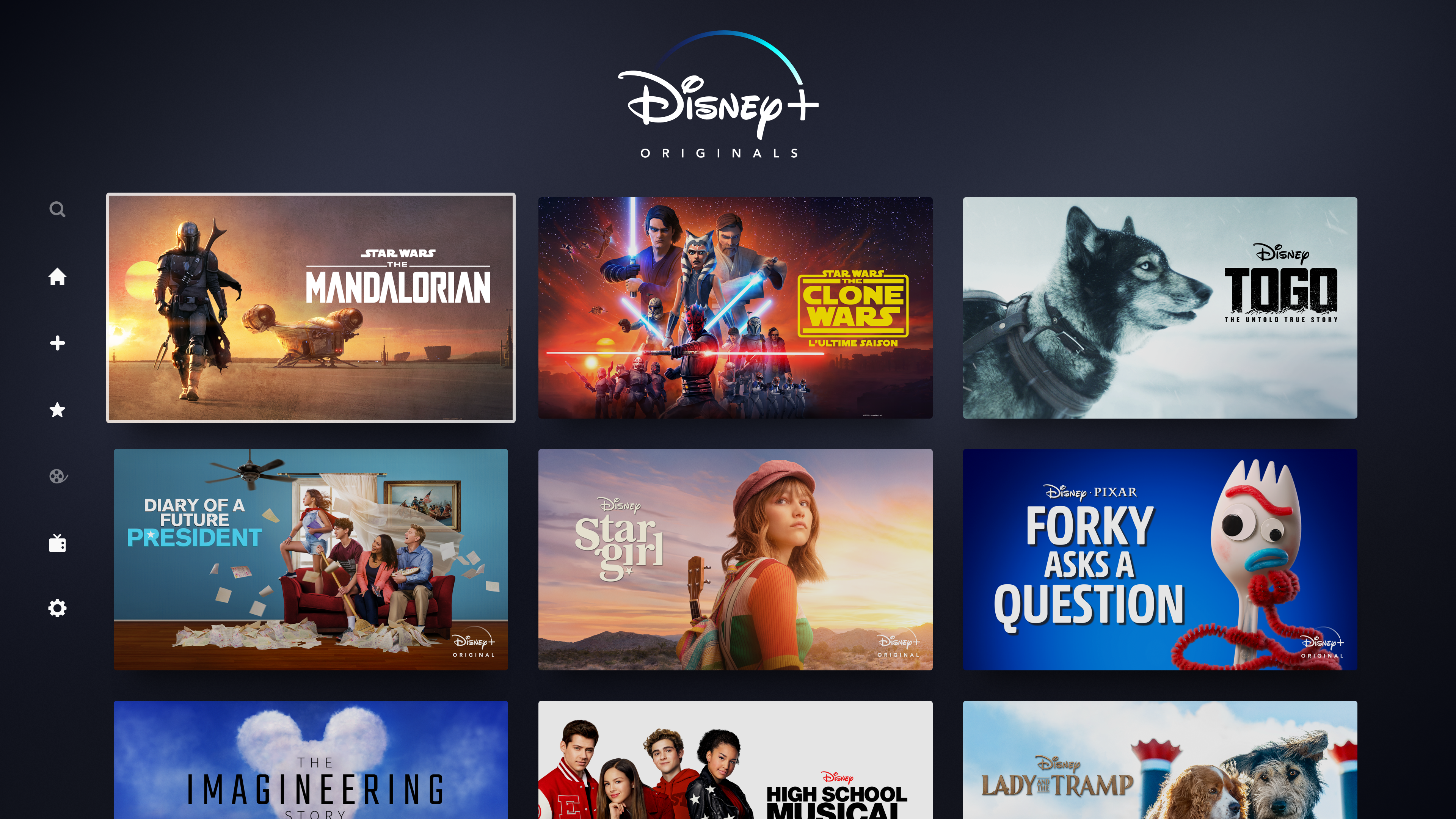Disney+ screenshot 15