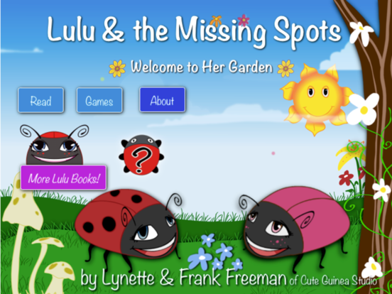 Ipad Screen Shot Lulu & the Missing Spots 0