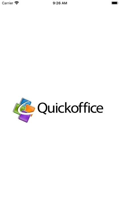 QuickOffice!