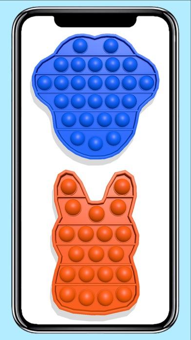 Pop it fidget toy calming Gameのおすすめ画像5