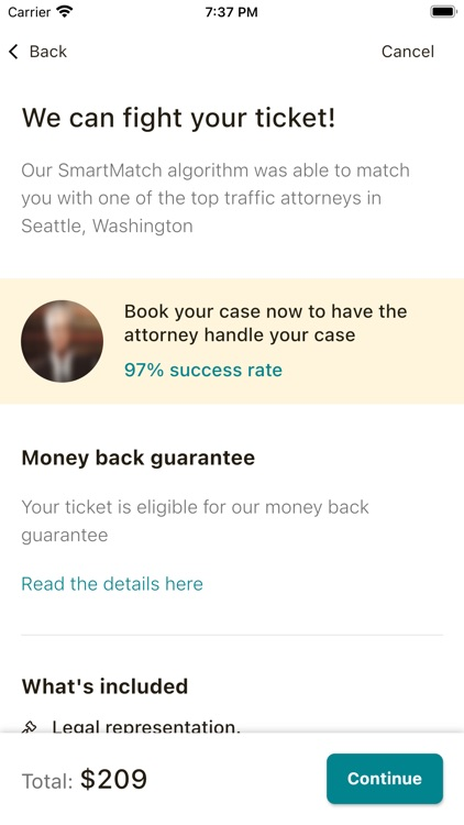 Off The Record: Ticket Lawyer screenshot-5