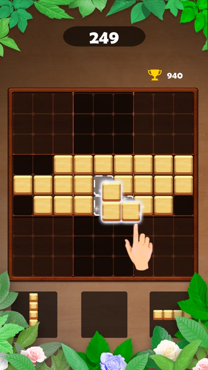 Wood Block Puzzle - Brain Game screenshot-6