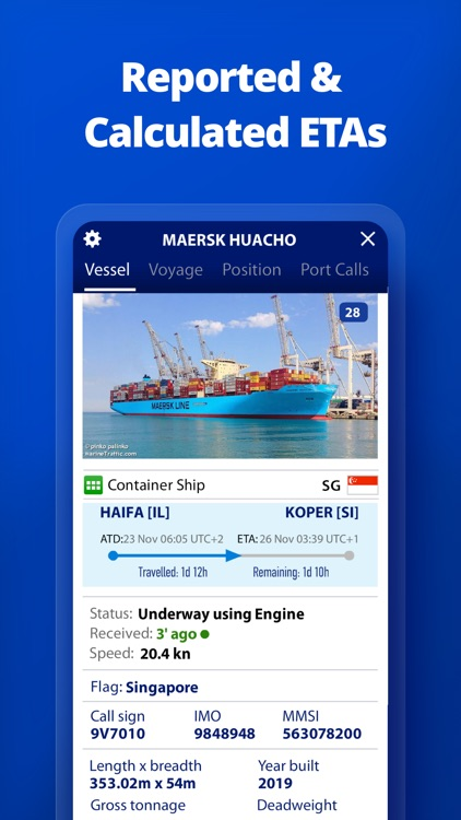 MarineTraffic - Ship Tracking screenshot-5