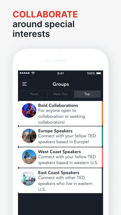 TED Red Circle screenshot 2