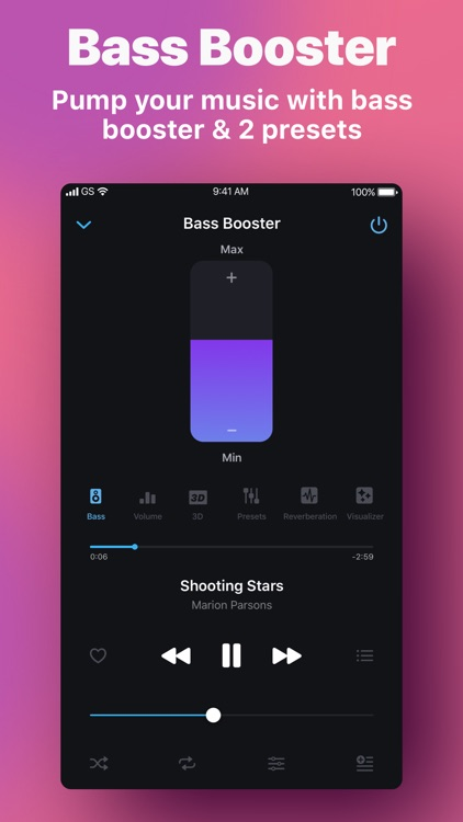 Equalizer & Bass Booster screenshot-0