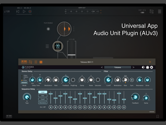 Yukawa - AUv3 Plugin Effectのおすすめ画像2