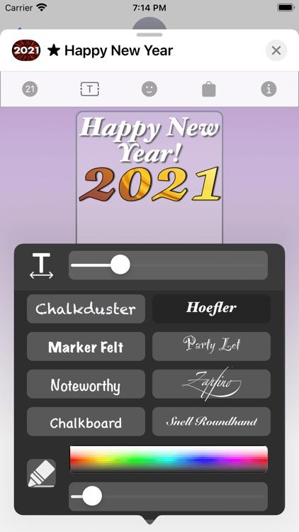 Happy New Year 2021! screenshot-3