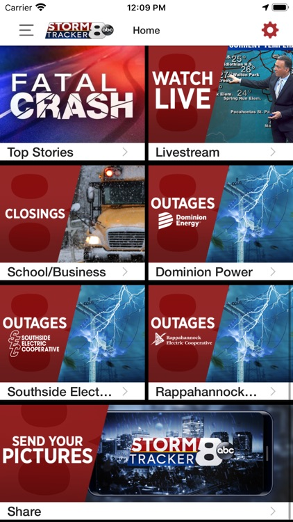 WRIC StormTracker 8 Weather screenshot-5