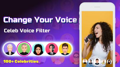 Celeb Voice Filter - Talkz Screenshot