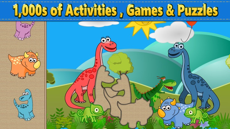 Dino Puzzle Kid Dinosaur Games screenshot-4