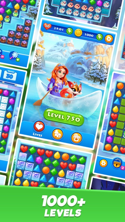 Crystal Crush - Match 3 Game screenshot-5