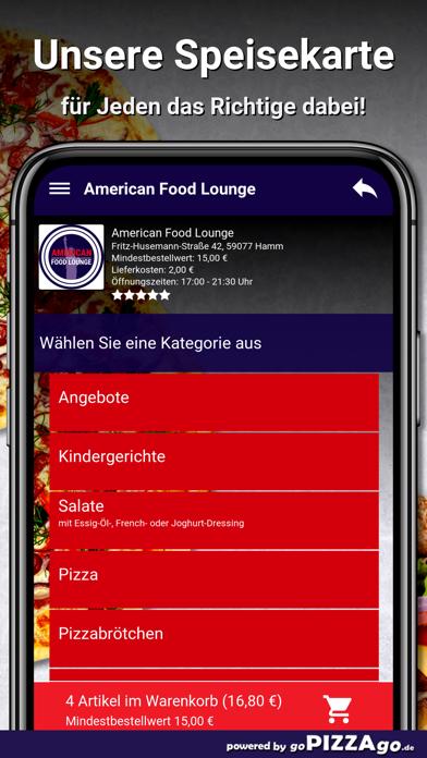 American Food Lounge Hamm screenshot 4