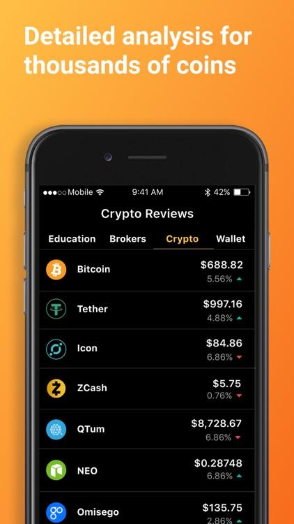 Bitcoin & Crypto Tracker screenshot-7