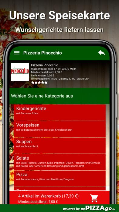 Pizzeria Pinocchio Mölln screenshot 4