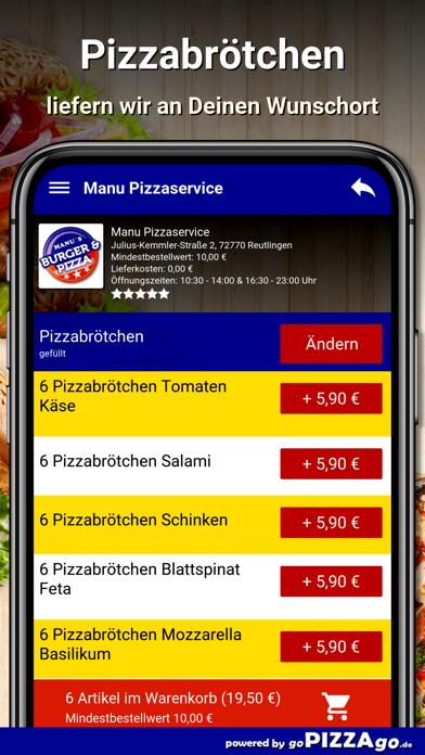 Manu Pizza Reutlingen screenshot 6