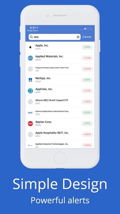 Stock Alarm - Alerts, Screener screenshot-7