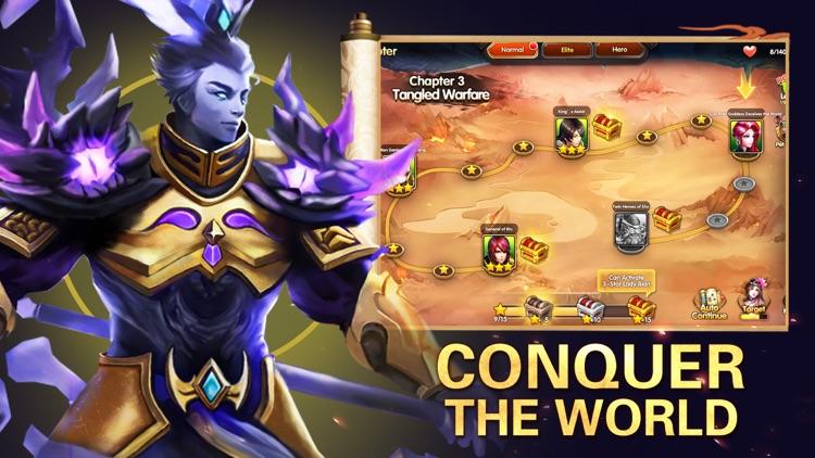 Three Kingdoms: Legend Heroes screenshot-3