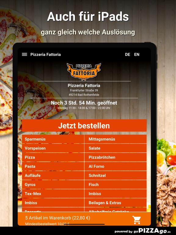 Pizzeria Fattoria Bad screenshot 7