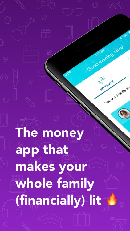 Goalsetter: a family money app