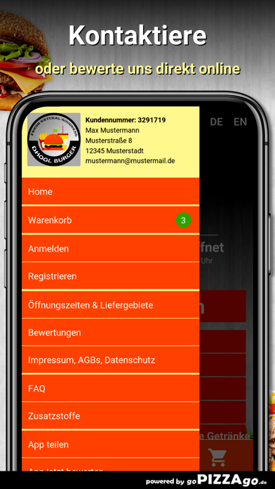 Dhool Burger Deizisau screenshot 3