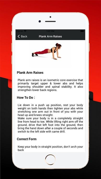 30 Days Abs Workout Exercises screenshot-4