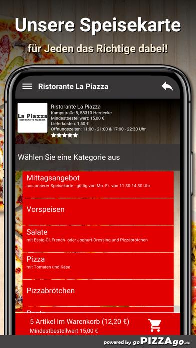 Ristorante La Piazza Herdecke screenshot 4