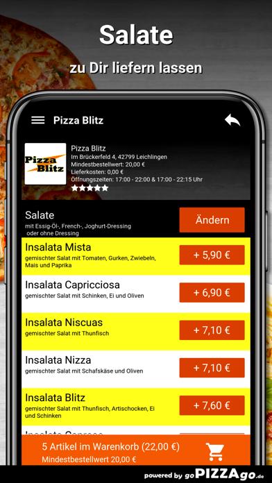 Pizza Blitz Leichlingen screenshot 5