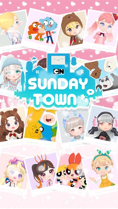 最新スマホゲームのカートゥーンネットワークSundayTownが配信開始!