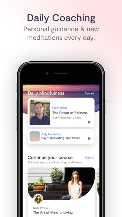 Mindfulness.com Meditation App screenshot-2