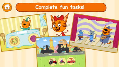 Screen Shot Kid-E-Cats: Little Kids Games! 4