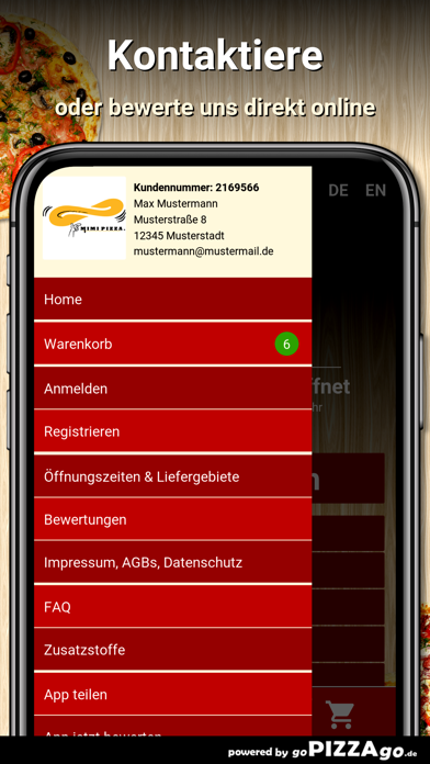 Mimi Pizza Hamburg screenshot 3