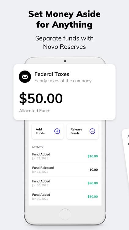 Novo - Business Banking screenshot-6