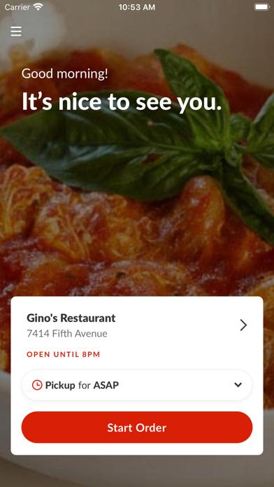 Gino's Restaurant BrooklynScreenshot of 2