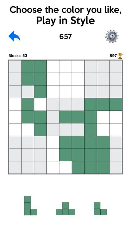 数独方块消除 - 伍迪拼图游戏, 方块放置类休闲游戏 screenshot-5