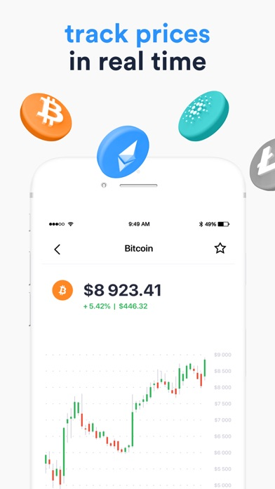 Crypterium | Bitcoin WalletСкриншоты 4