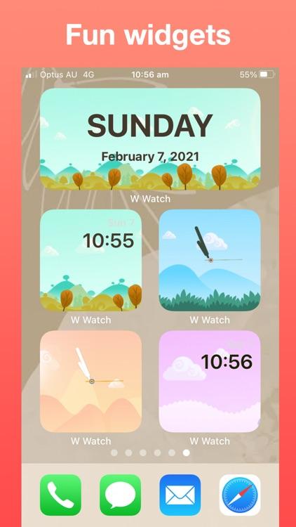 Widget Watch, Photo Calendar + screenshot-9