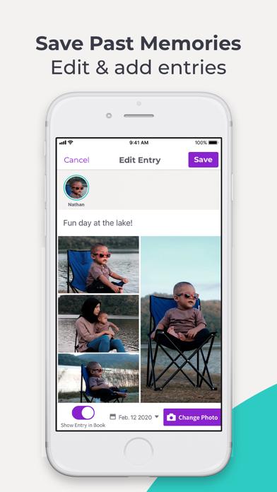 Qeepsake: Family & Baby Book Screenshot