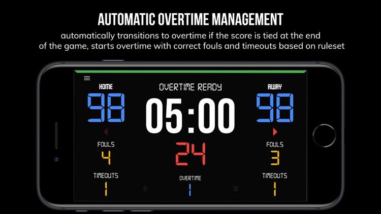 BT Scoreboard - Basketball screenshot-5