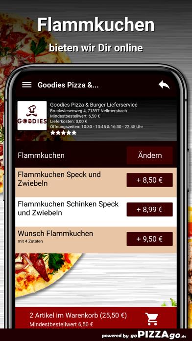Goodies Pizza Nellmersbach screenshot 5
