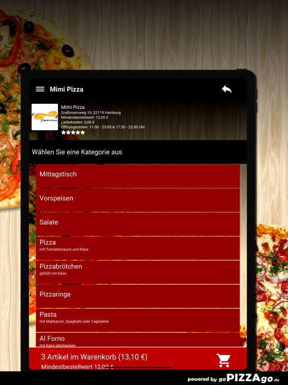 Mimi Pizza Hamburg screenshot 8