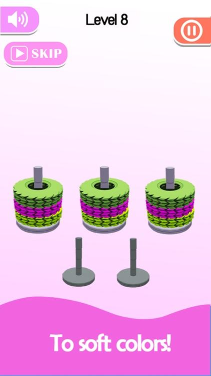 Stack Sort - Color Hoop screenshot-7
