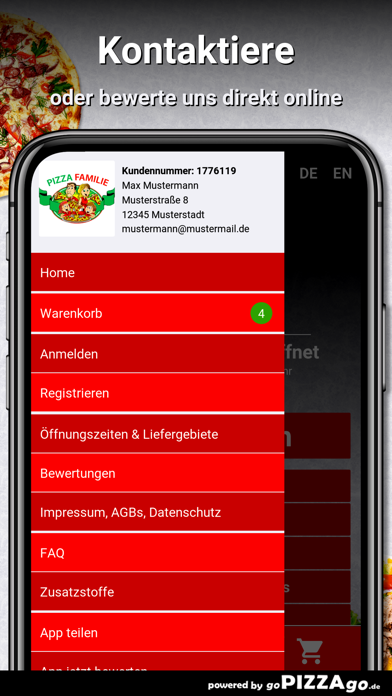 Pizza Familie Puchheim screenshot 3