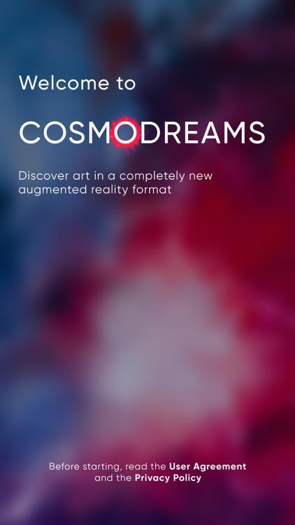 COSMODREAMS: art in AR