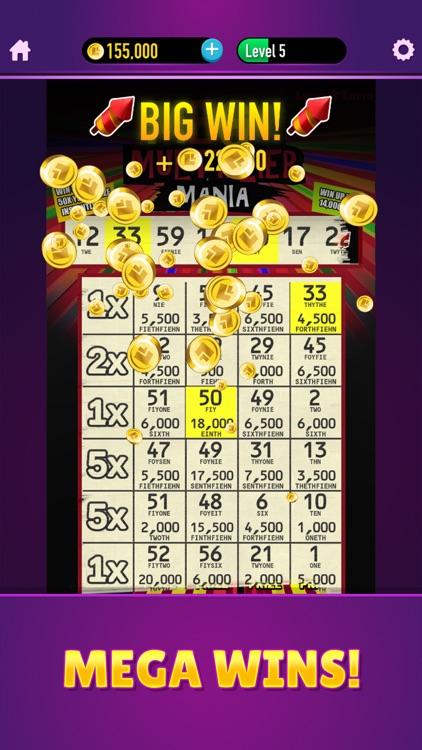 Lucky Lotto - Mega Scratchers