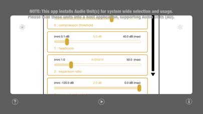 WU: AUDynamicsProcessor screenshot 2