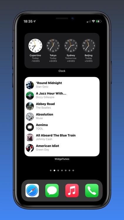 WidgeTunes - Music Widgets screenshot-5