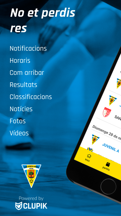 Screenshot of ABRERA CLUB ESPORTIU App