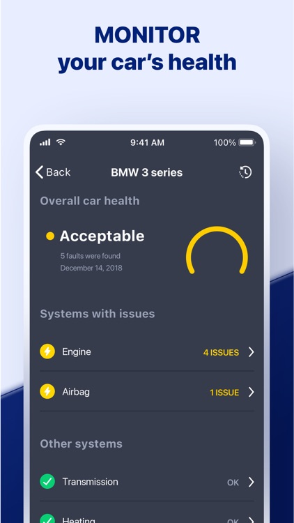 Carly — OBD2 car scanner
