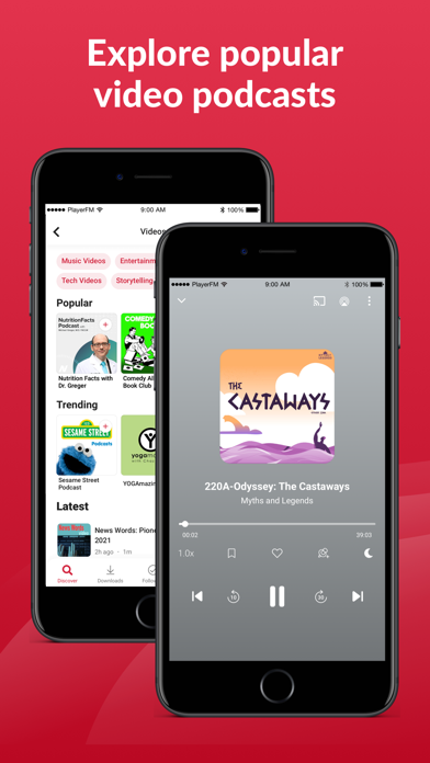 Player FM — Podcast App Screenshot