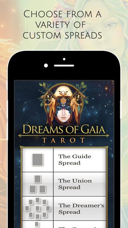 Dreams of Gaia Tarot screenshot-4